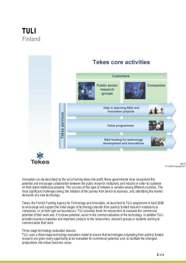 Case Study: TULI Programme, Finland Slide 2