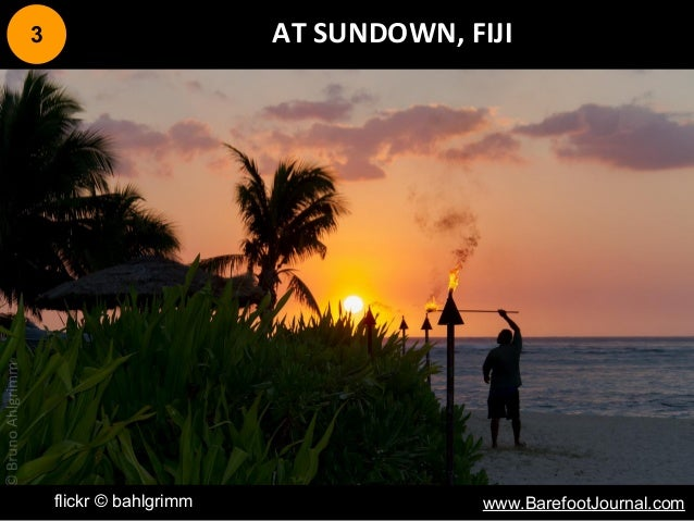 3 AT SUNDOWN, FIJI flickr © bahlgrimm www.BarefootJournal.com