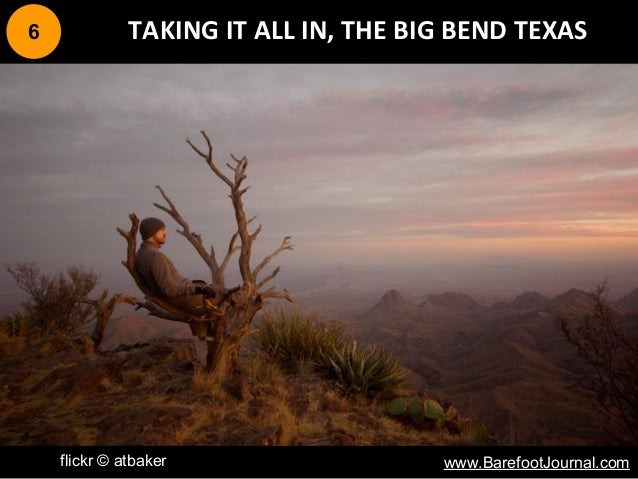 6 TAKING IT ALL IN, THE BIG BEND TEXAS flickr © atbaker www.BarefootJournal.com