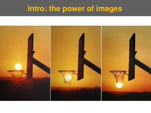 Intro: the power of images