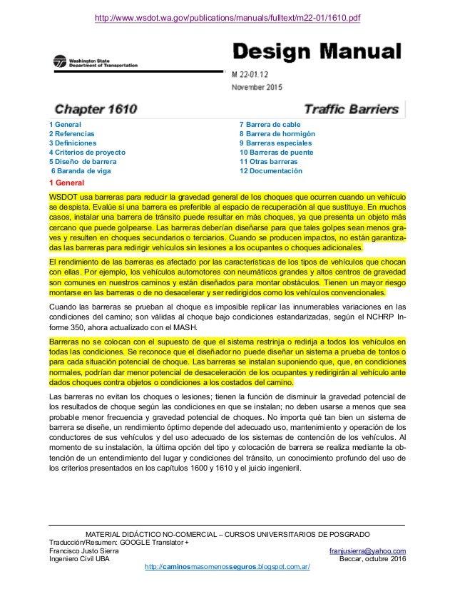 http://www.wsdot.wa.gov/publications/manuals/fulltext/m22-01/1610.pdf MATERIAL DIDÁCTICO NO-COMERCIAL – CURSOS UNIVERSITAR...