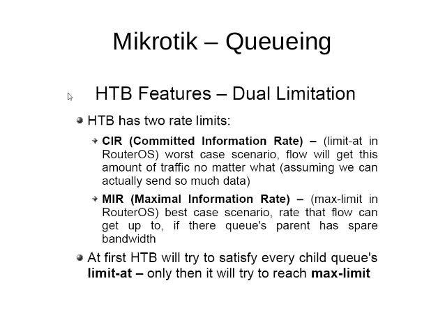 Mikrotik – Queueing