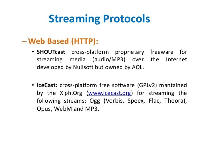 Multimedia Streaming Architecture