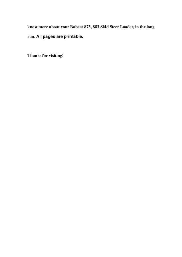 bobcat 873 883 skid steer loader service repair workshop manual download sn 514140001 above sn 514240001 above sn 517911001 above sn 520111001 above sn 520211001 above 3 638?cb\=1357811960 bobcat 873 wiring harness diagram gandul 45 77 79 119  at fashall.co