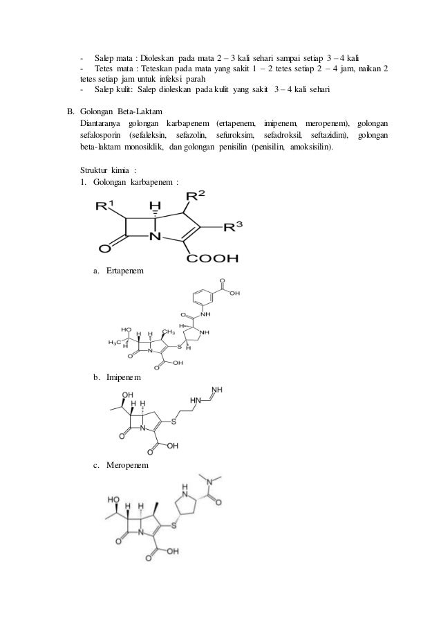 Antibiotik Meropenem Pdf