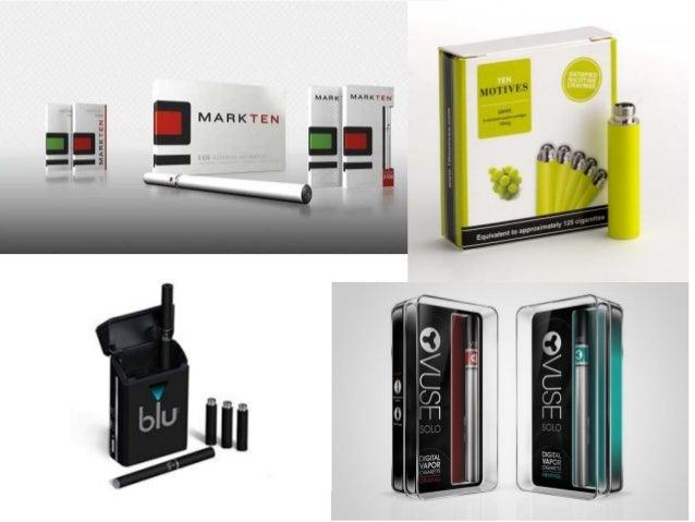 New nicotine + tobacco vaporizers: no combustion of tobacco  Nicotine vaporizers, without tobacco:  1.E-cigarettes (3 broa...