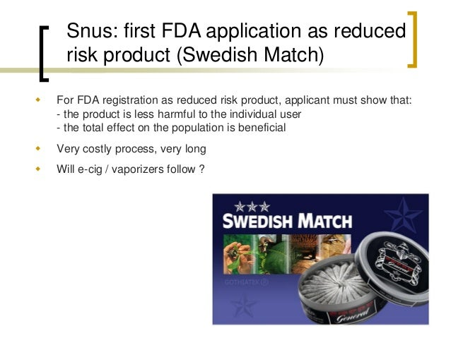 Philip Morris:  4 new reduced risk products  See presentation on PM Investor's day 2014:  https://www.media-server.com/m/i...