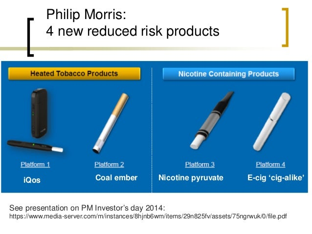 Science + regulation are part of the tobacco industry's business model