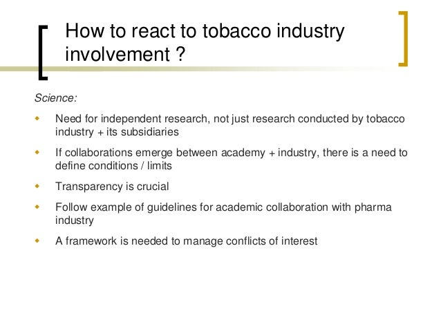Management of conflicts of interest  Goals = protect the integrity of research, = preserve public trust  Core principle ...