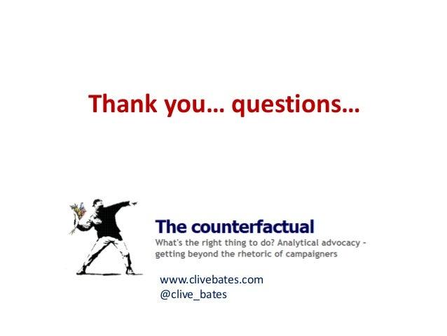 www.clivebates.com  @clive_bates  Thank you… questions…