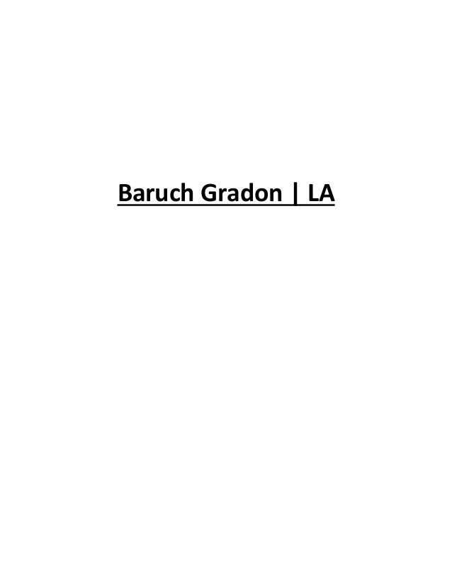 Baruch Gradon | LA