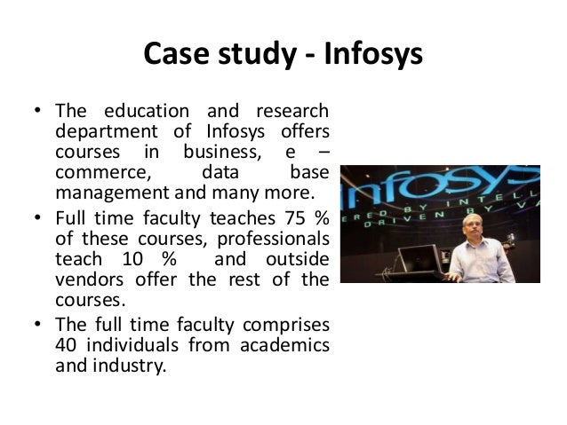can analysis for infosys Users in a self-service manner for exploratory analysis and insight generation   organizations will evolve into product focused knowledge tribes that aligns bi/ .