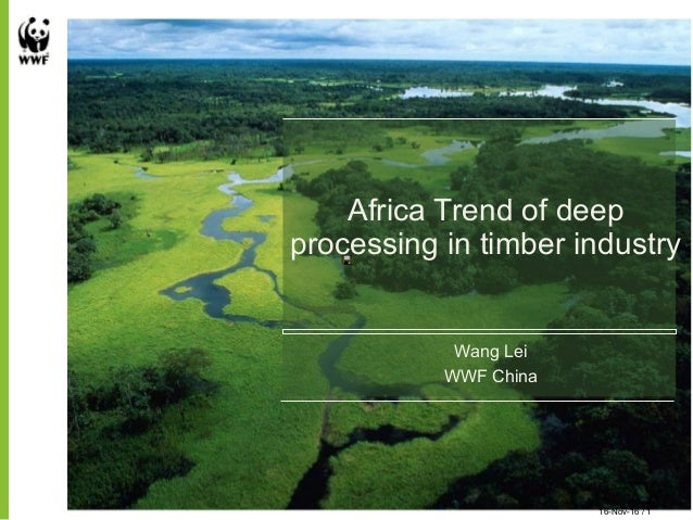 Africa Trend of deep processing in timber industry Wang Lei WWF China 16-Nov-16 / 1