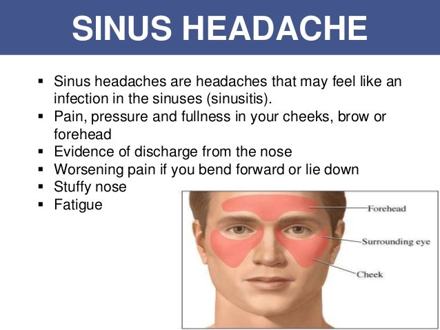 how to get rid of sinus pressure behind your eyes