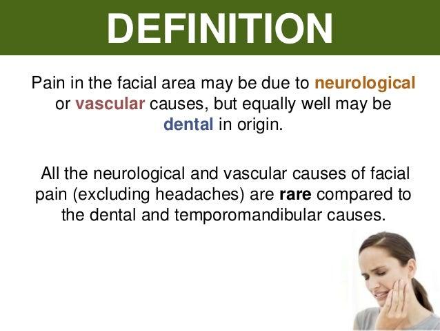 Epilepsy, headache and facial pain