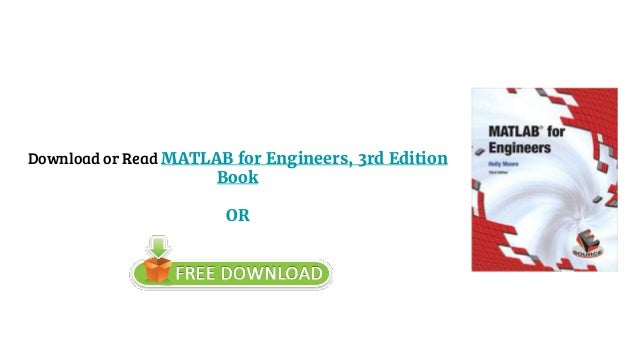 matlab for engineers 4th edition pdf download