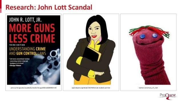 Research: John Lott Scandal press.uchicago.edu/ucp/books/book/chicago/M/bo6686900.html openclipart.org/detail/236749/femal...