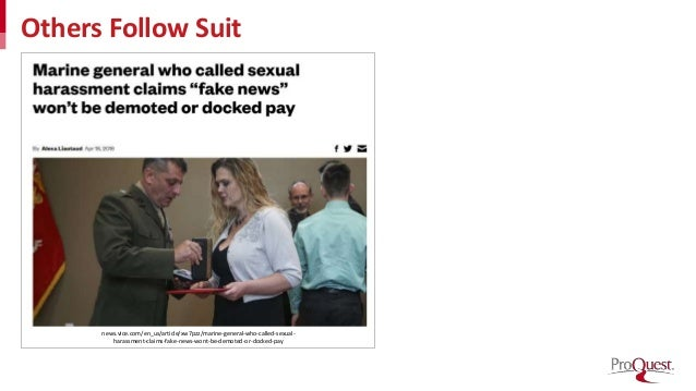 Others Follow Suit news.vice.com/en_us/article/xw7pzz/marine-general-who-called-sexual- harassment-claims-fake-news-wont-b...
