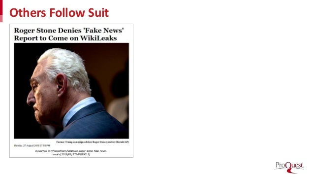 Others Follow Suit newsmax.com/newsfront/wikileaks-roger-stone-fake-news- emails/2018/08/27/id/879011/