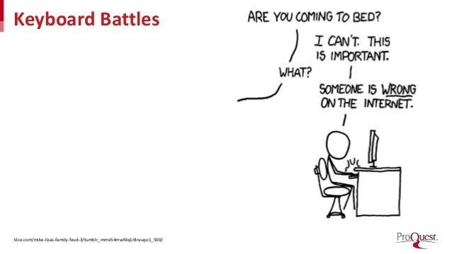 Keyboard Battles klce.com/mike-lizas-family-feud-3/tumblr_mme54mwfdq1r8rauqo1_500/