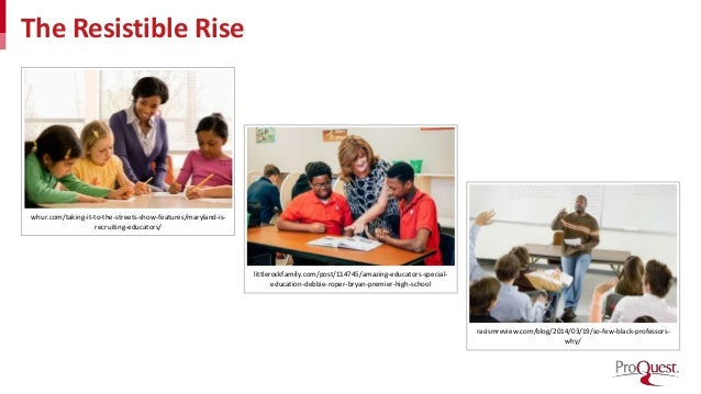 The Resistible Rise whur.com/taking-it-to-the-streets-show-features/maryland-is- recruiting-educators/ littlerockfamily.co...