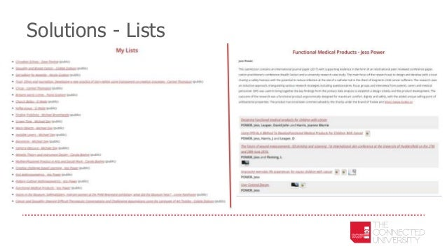 Solutions - Lists