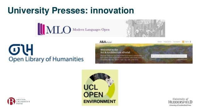 University Presses: innovation