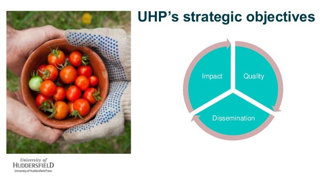 UHP's strategic objectives Quality Dissemination Impact