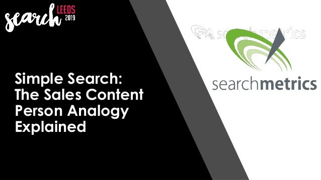 @StillShyam Simple Search: The Sales Content Person Analogy Explained