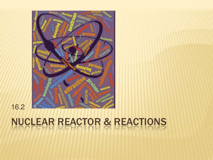 Nuclear Reactor & Reactions<br />16.2<br />