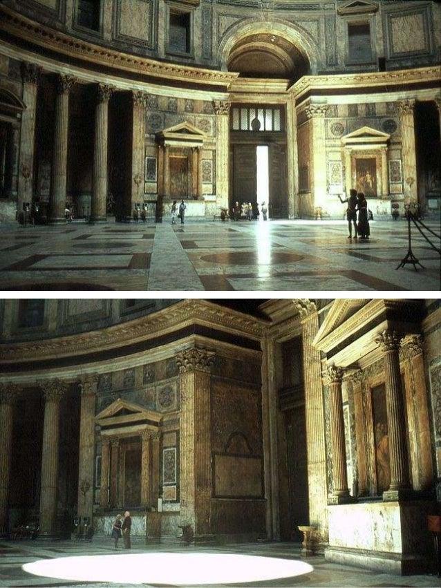 16 architettura romana il pantheon for Esterno pantheon