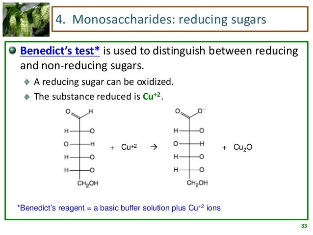 Benedicts Reagent Ring Form Glucose