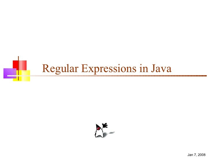 Regular Expressions in Java