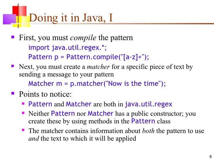 60 Java Regex Stunning Java Pattern Compile