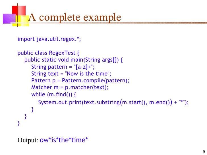 60 Java Regex Cool Java Pattern Compile