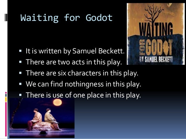 waiting for godot as an existentialist play