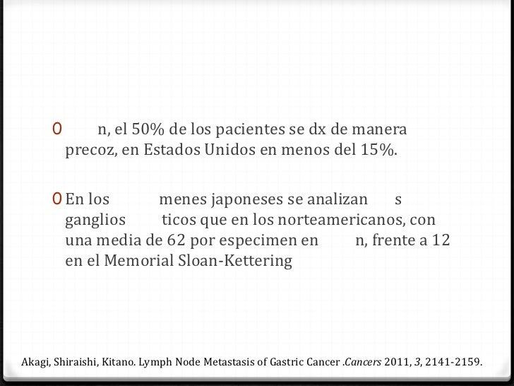 J. Lawrence Munson, O'Mahony. Gastrectomía radical para el cáncer de estómago,. Surg Clin N Am 85(2005) 1021 – 1032