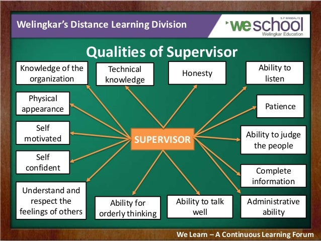 management and supervision Essentially, supervision is the act of watching over the work of another person who lacks full knowledge of what they are doing, or the concept at hand this does not mean they control the other person, but they simply guide them in work or in a personal.