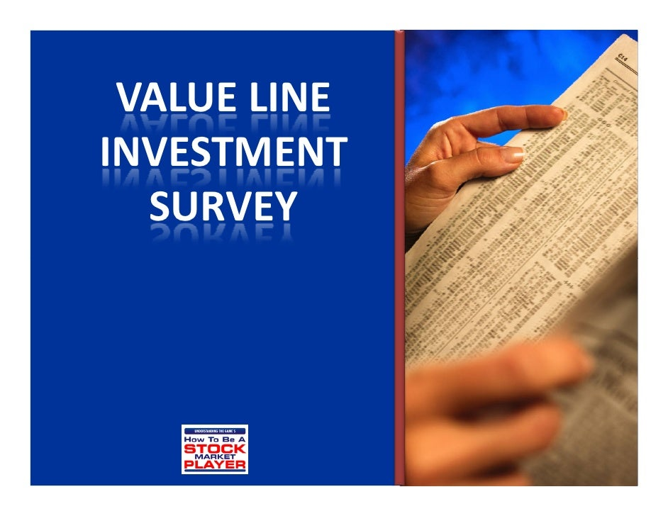 Value line investment survey