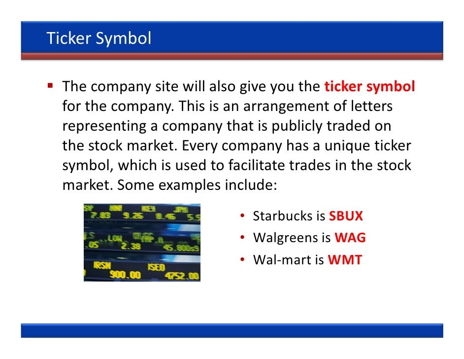 Ticker Symbol Walmart Images Meaning Of Text Symbols
