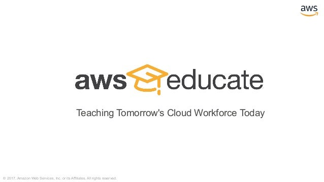 Transforming Education and Research Through the AWS Cloud