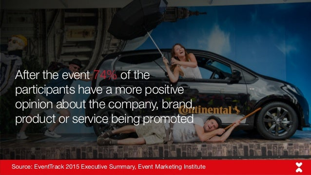 Source: Bing search trends After the event 74% of the participants have a more positive opinion about the company, brand, ...