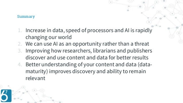 Improving content discovery using AI  and machine learning