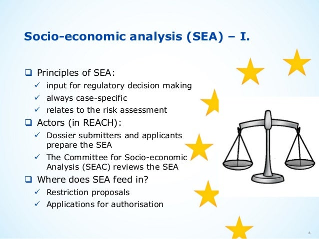 socio-economic analysis framework