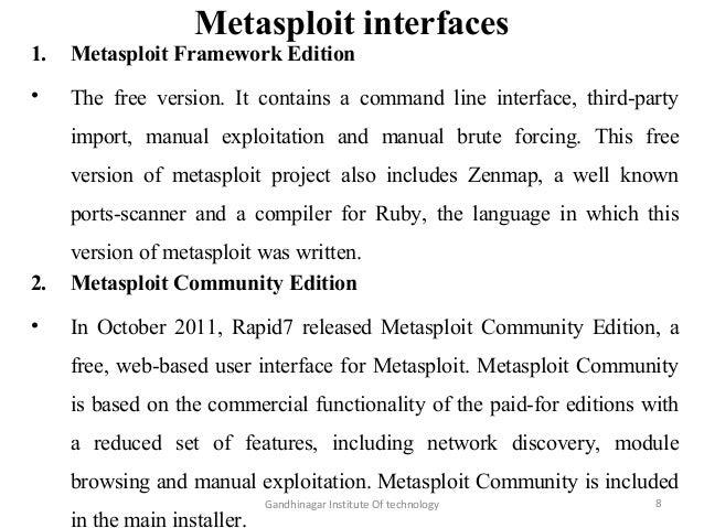 Meta sploit (cyber security)