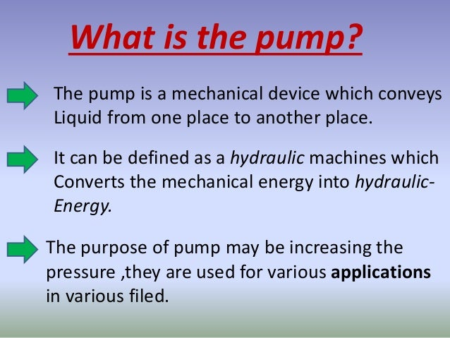 what is pumps?| and how they works?|VGEC college|vikalp panchal