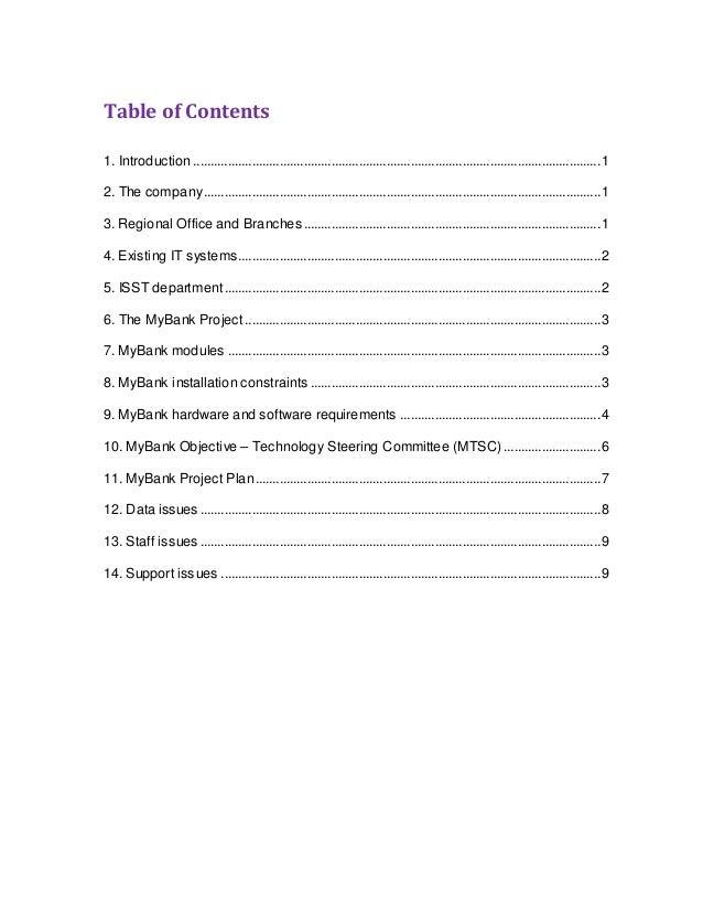 cc coursework my bank islington case study  bank case study 2