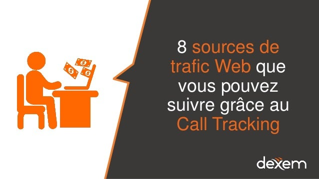 8 sources de trafic Web que vous pouvez suivre grâce au Call Tracking