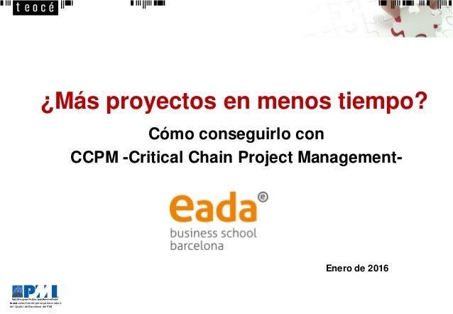 teocéconsultors empresa patrocinadora del Capítol de Barcelona del PMI ¿Más proyectos en menos tiempo? Cómo conseguirlo co...