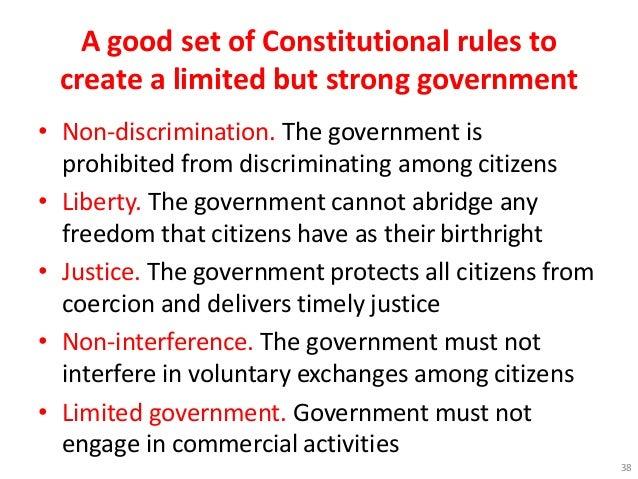 good constitution